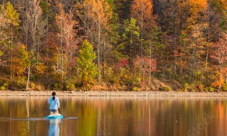Canoeing in Western Maryland